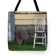Dads High Chair Tote Bag by Lauri Novak