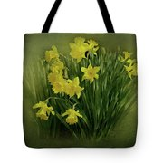 Daffodils Tote Bag by Sandy Keeton