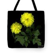 Dahlia Tote Bag by Christian Slanec