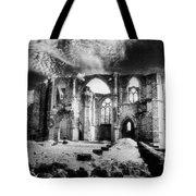 Dammarie les Lys Abbey Tote Bag by Simon Marsden