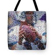 Dan Marino Mosaic Tote Bag by Paul Van Scott
