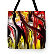 Dance Of The Sugar Plum Faries Tote Bag by David Lane