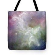Dancing Angels Tote Bag by Marina Petro