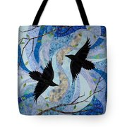 Dancing With The Chinook Tote Bag by Linda Beach