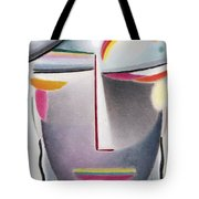 Dark Buddha Tote Bag by Alexej von Jawlensky