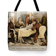 Declaration Committee 1776 Tote Bag by Photo Researchers