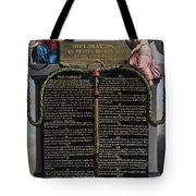 Declaration Of The Rights Of Man And Citizen Tote Bag by French School