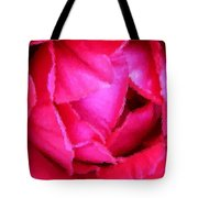 Deep Inside The Rose Tote Bag by Kristin Elmquist