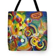 Delaunay: Hommage Bleriot Tote Bag by Granger