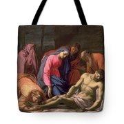 Deposition Tote Bag by Eustache Le Sueur