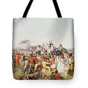 Derby Day Tote Bag by William Powell Frith