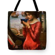 Destiny Tote Bag by John William Waterhouse