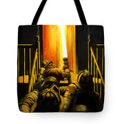 Devil's Stairway Tote Bag by Paul Walsh