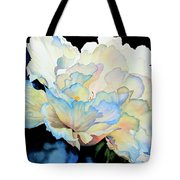 Dew Drops On Peony Tote Bag by Hanne Lore Koehler