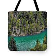 Diabolo Lake North Cascades Np Wa Tote Bag by Christine Till