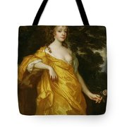 Diana Kirke-Later Countess of Oxford Tote Bag by Sir Peter Lely