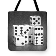 Dice Cubes IIi Tote Bag by Tom Mc Nemar