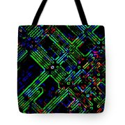 Diffusion Component Tote Bag by Will Borden
