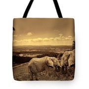 Dignified Rank Tote Bag by Lourry Legarde