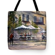 Dining Alfresco Tote Bag by Ryan Radke