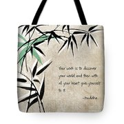 Discover Your World Tote Bag by Linda Woods