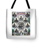 Distinguished Colored Men Tote Bag by War Is Hell Store