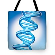 DNA Double Helix Tote Bag by Marc Phares and Photo Researchers