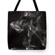 Dog Smoke Tote Bag by Garry Gay