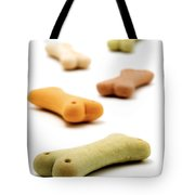 Dog's biscuit  Tote Bag by Fabrizio Troiani
