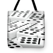 Dominoes I Tote Bag by Tom Mc Nemar
