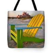 Don Cesar And Beach Chair Tote Bag by David Lee Thompson