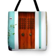 Door 51 Tote Bag by Perry Webster