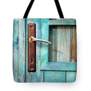 Door Handle Tote Bag by Carlos Caetano