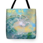 Dream Wave Tote Bag by Linda Sannuti