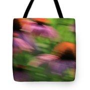 Dreaming Of Flowers Tote Bag by Karol Livote
