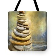 Dreaming Stones Tote Bag by Carol Cavalaris