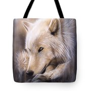 Dreamscape - Wolf Tote Bag by Sandi Baker