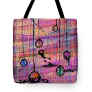 Dunking Ornaments Tote Bag by Rachel Christine Nowicki