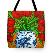 Dutch Delight Tote Bag by Lisa  Lorenz