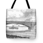 EADS BRIDGE, ST LOUIS Tote Bag by Granger
