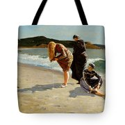 Eagle Head Manchester Massachusetts Tote Bag by Winslow Homer