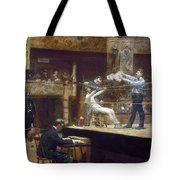 EAKINS: BETWEEN ROUNDS Tote Bag by Granger