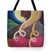 Earth Angel Tote Bag by Helena Tiainen