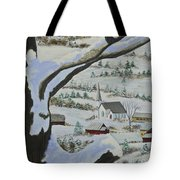 East Orange Vermont Tote Bag by Charlotte Blanchard