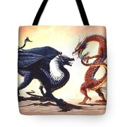 East Vs West Tote Bag by Stanley Morrison