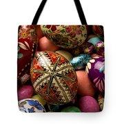 Easter Eggs Tote Bag by Garry Gay