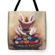 Easter Hog Tote Bag by Nadine Rippelmeyer