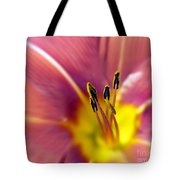 Easter Lily 3 Tote Bag by Tony Cordoza