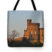 Edinburgh Scotland - Governors House And Obelisk Calton Hill Tote Bag by Christine Till