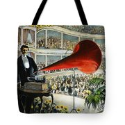 Edison Phonograph Ad, 1899 Tote Bag by Granger